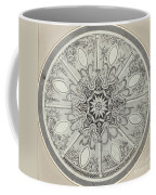 Design For An Inlaid Circular Table Top, With Alternatives Coffee Mug