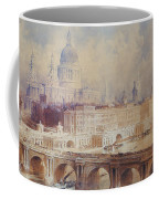 Design For The Thames Embankment, View Looking Downstream Coffee Mug