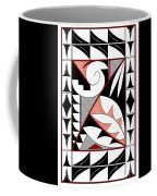 Southwest Collection - Design Four In Red Coffee Mug