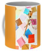 Design In Abstract Geometry Coffee Mug