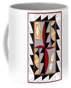 Southwest Collection - Design One In Red Coffee Mug
