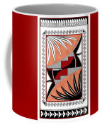 Southwest Collection - Design Three In Red Coffee Mug