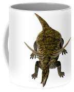 Desmatosuchus On White Coffee Mug