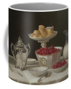 Dessert Still Life, 1855 Coffee Mug