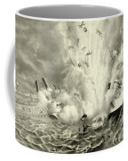 Destruction Of The Us Battleship Maine, 15th February, 1898 Coffee Mug