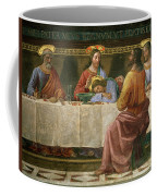 Detail From The Last Supper Coffee Mug by Domenico Ghirlandaio