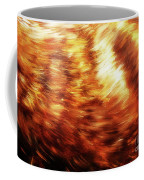 Detail Of Animal Fur Structure, Hand Painted And Graphic Background. Coffee Mug