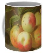 Detail Of Apples On A Shelf Coffee Mug