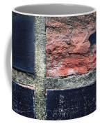Detail Of Damaged Wall Tiles Coffee Mug