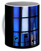 Detail Of Modern Johannes Schreiter Window Mainz 2 Coffee Mug
