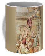 Detail Of Saint Cecilia Distributing Alms Coffee Mug