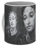 Detail Of Stressed Coffee Mug