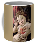 Detail Of The Christ Child From The Madonna Of The Pomegranate  Coffee Mug