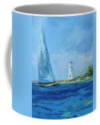 Sailing By The Light Coffee Mug