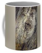 Detail Stumps On Old Wood Coffee Mug