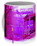 Deterioration In Neon Coffee Mug