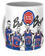 Detroit Bad Boys Pistons Coffee Mug