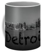 Detroit City  Coffee Mug