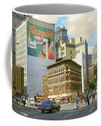 Detroit Michigan 84 - Watercolor Coffee Mug