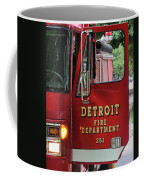 Detroit Fire Department Coffee Mug