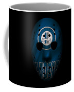 Detroit Lions War Mask Coffee Mug