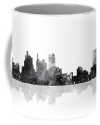 Detroit Michigan Skyline Coffee Mug