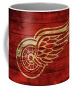 Detroit Redwings Barn Door Coffee Mug