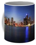 Detroit Skyline 1 Coffee Mug