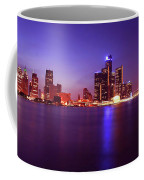 Detroit Skyline 2 Coffee Mug