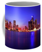 Detroit Skyline 3 Coffee Mug