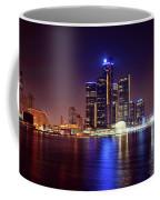Detroit Skyline 4 Coffee Mug