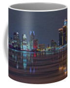 Detroit Skyline From Windsor In Hdr Coffee Mug
