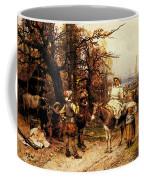 Detti Cesare Auguste A Halt Along The Way Coffee Mug