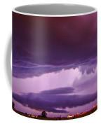 Developing Nebraska Night Shelf Cloud 003 Coffee Mug