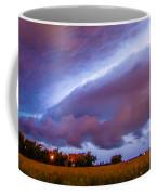 Developing Nebraska Night Shelf Cloud 006 Coffee Mug