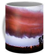 Developing Nebraska Night Shelf Cloud 009 Coffee Mug