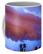 Developing Nebraska Night Shelf Cloud 012 Coffee Mug