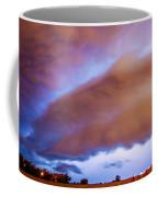 Developing Nebraska Night Shelf Cloud 013 Coffee Mug