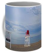Devereux Beach Lifeguard Chair Info Board Marblehead Ma Coffee Mug