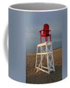 Devereux Beach Lifeguard Chair Marblehead Ma Coffee Mug