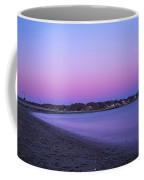 Devereaux Beach Marblehead Ma At Dusk Coffee Mug