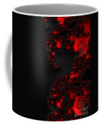 Devil Light   A Fractal Abstract Coffee Mug