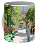 Devotees In Rishikesh India Coffee Mug