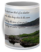 Devotion By Poet Robert Frost Coffee Mug