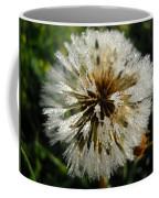 Dew Covered Dandelion Coffee Mug