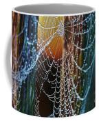 Dew Covered Web Coffee Mug