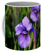 Dew Kissed Iris Coffee Mug