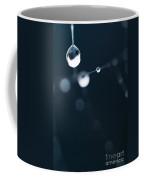Dewdrops On Cobweb 005 Coffee Mug