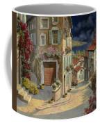 Di Notte Al Mare Coffee Mug by Guido Borelli