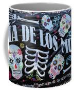 Dia De Los Muertos Banner  Coffee Mug